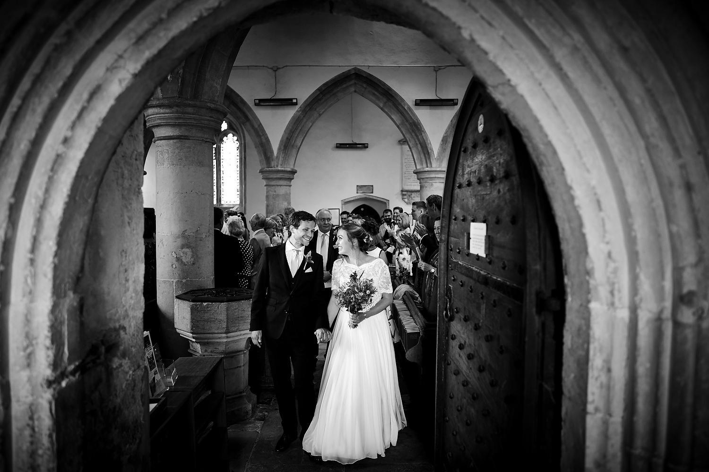 Sussex village church wedding