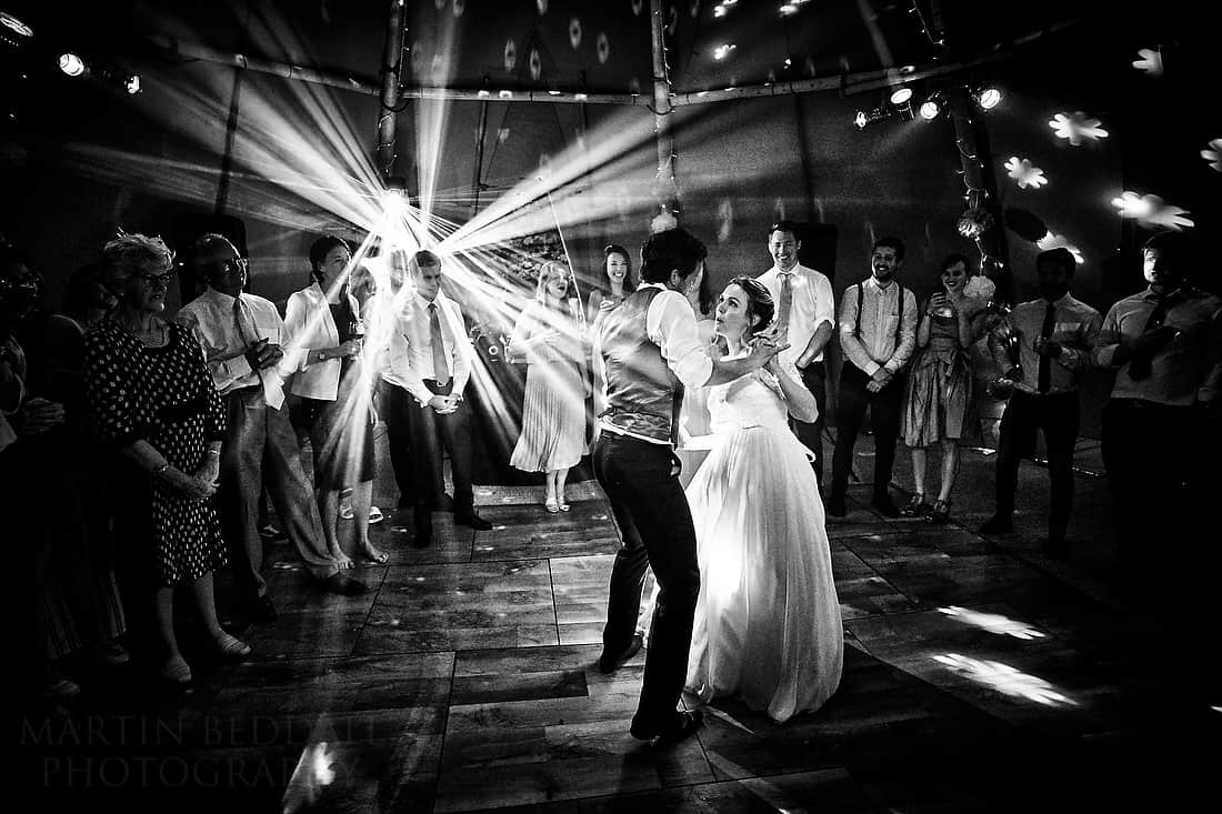 first dance at a sussex wedding