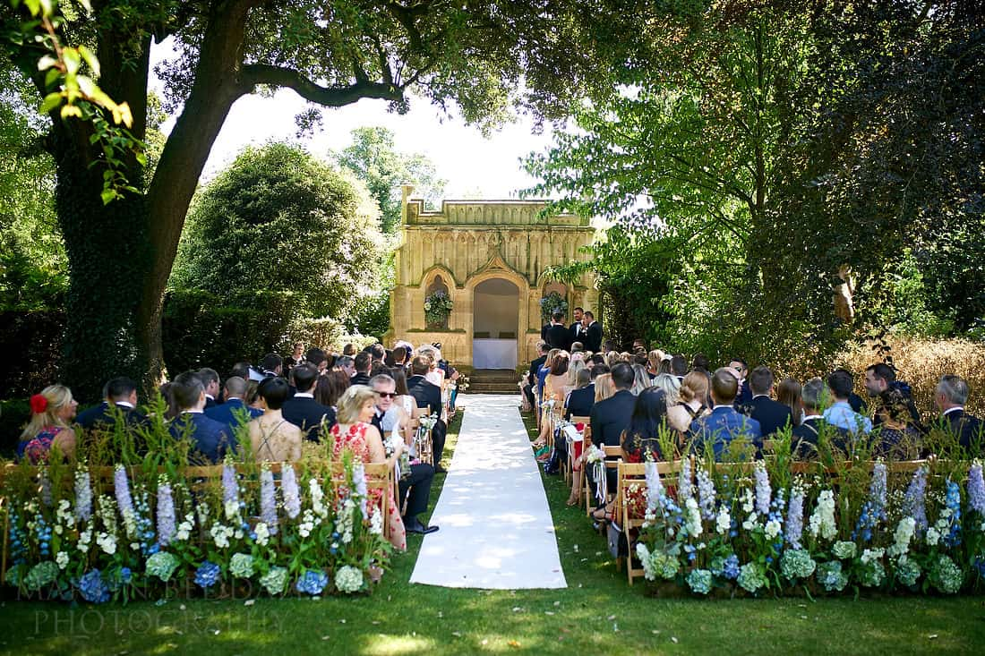 Barnsley House wedding