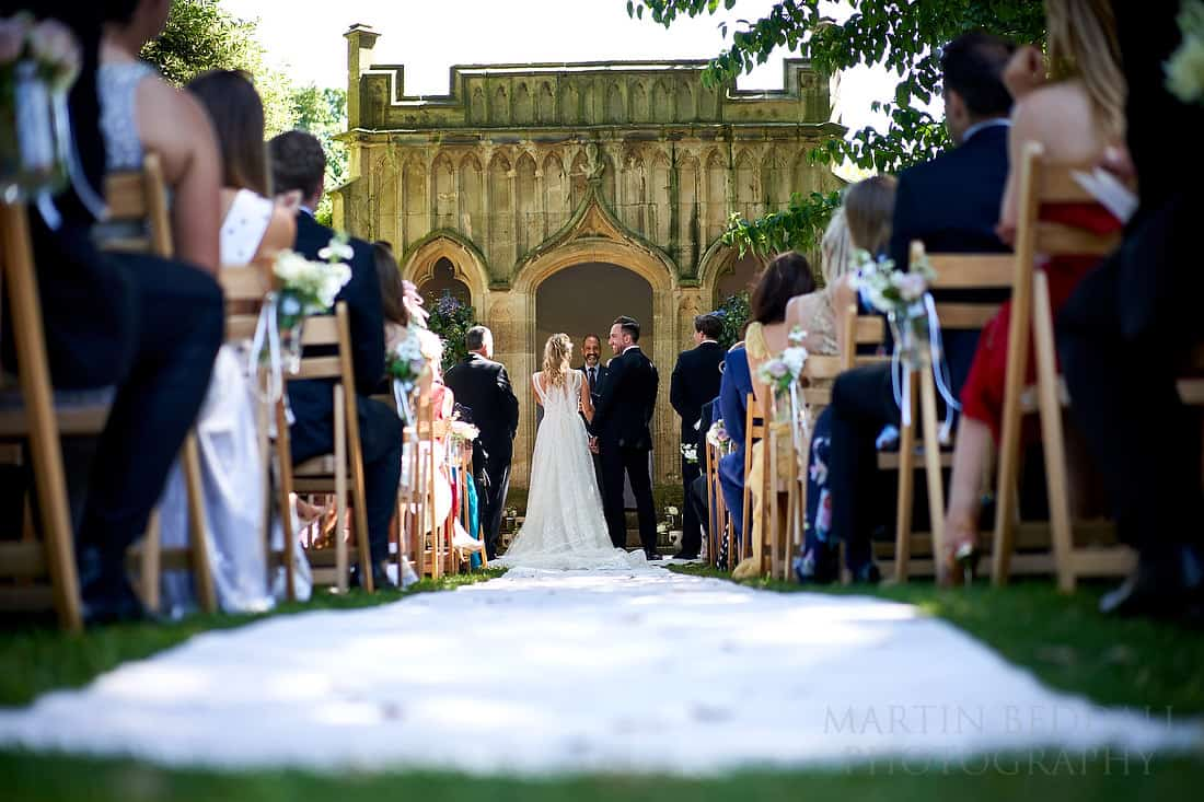 Barnsley House wedding ceremony