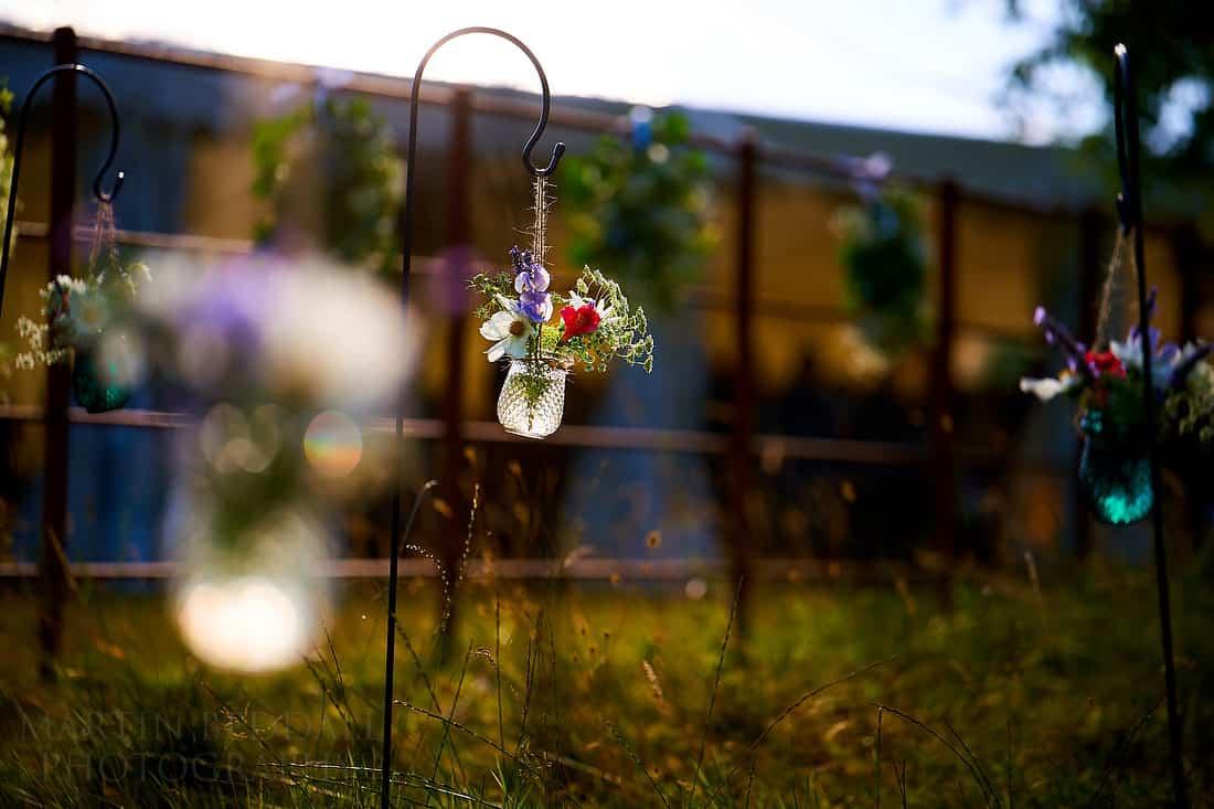 marquee in the garden wedding