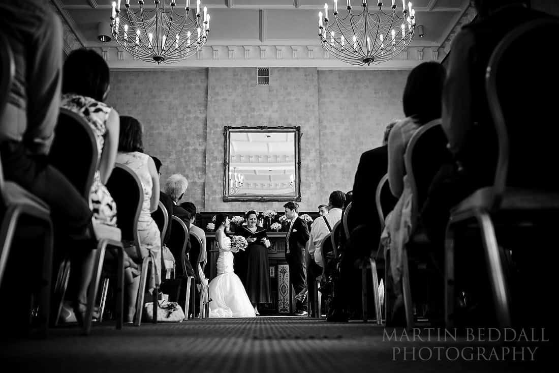 Bloomsbury House wedding ceremony