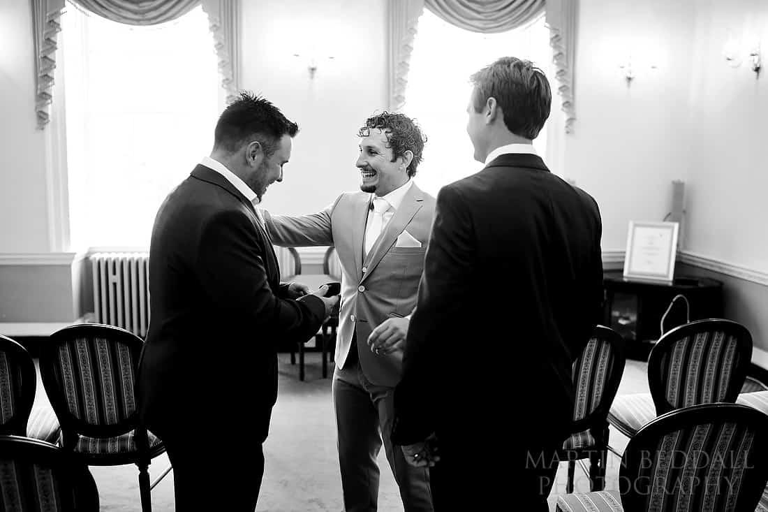 groom and his best men