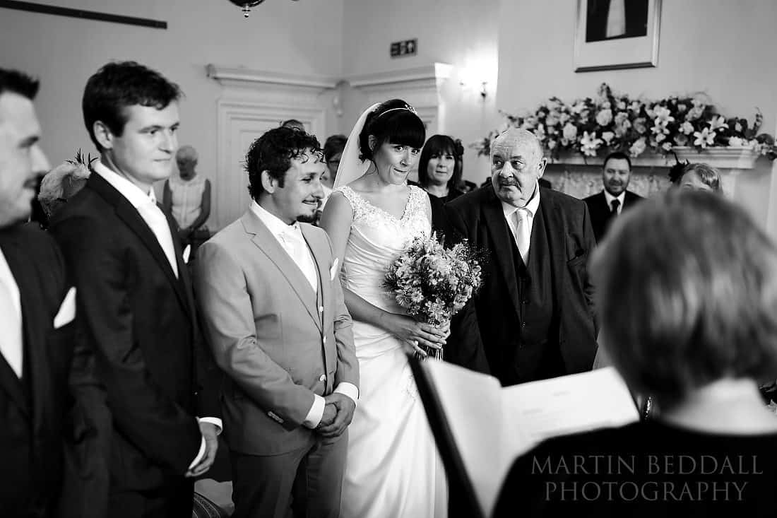 Horsham registry office wedding
