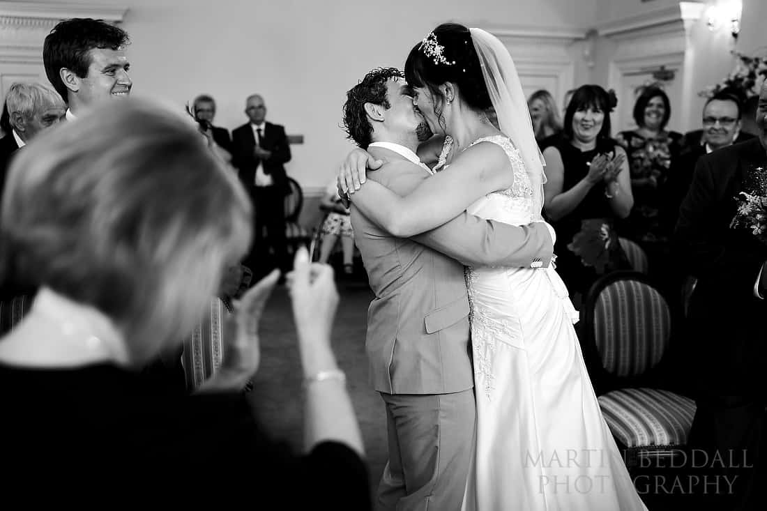 Horsham registry office wedding ceremony