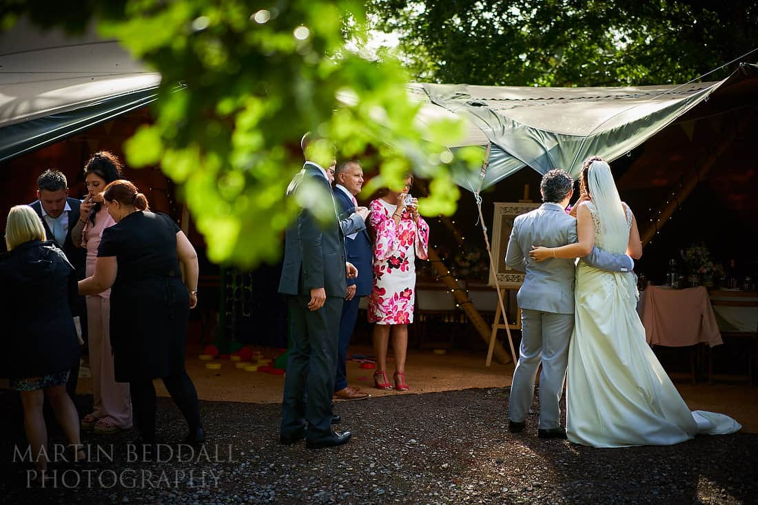 Five Oaks events wedding reception