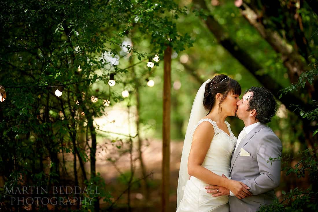 Couple portrait at Five Oaks events