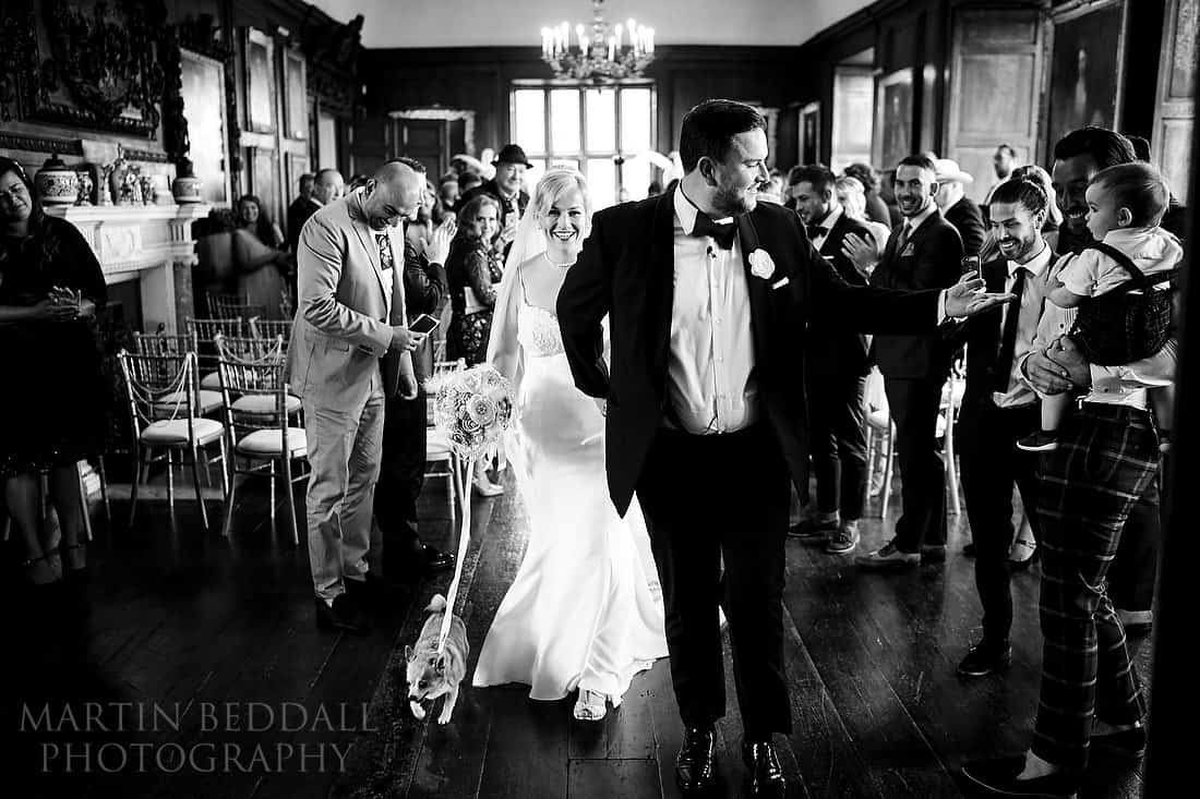 Wedding photography at Glynde Place