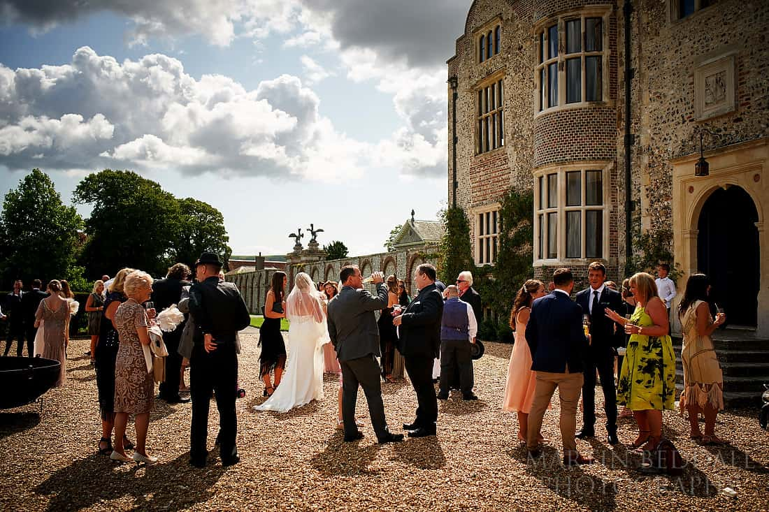 Wedding at Glynde Place in Sussex
