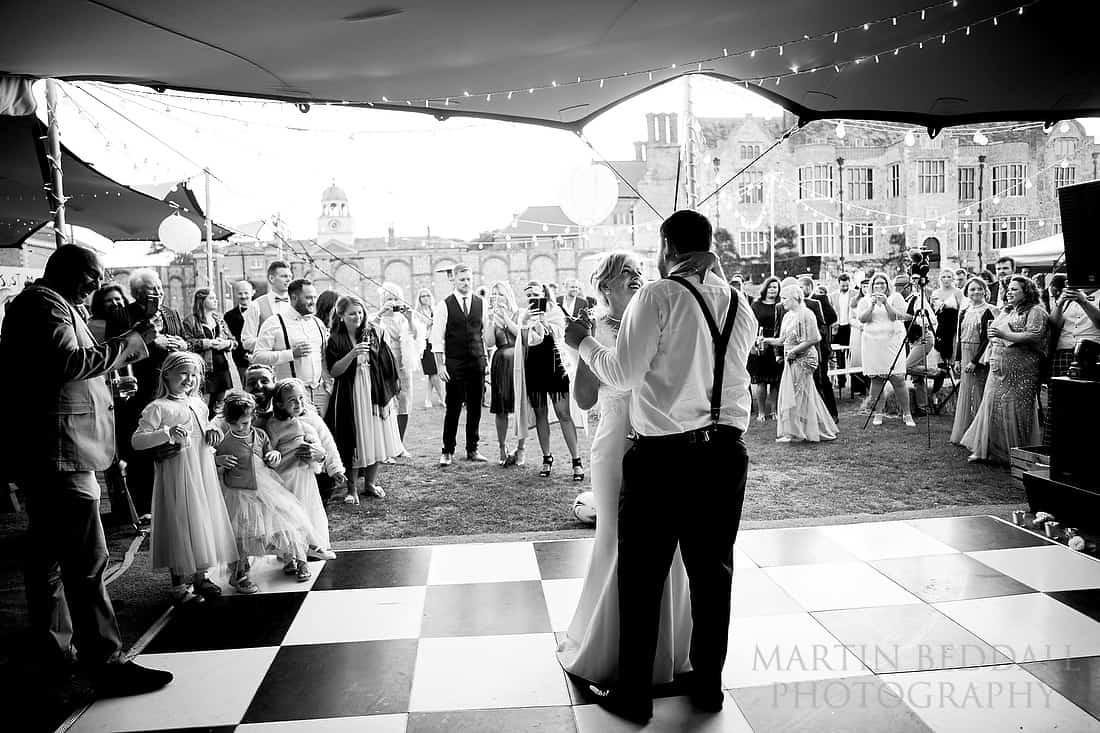 Glynde Place wedding first dance