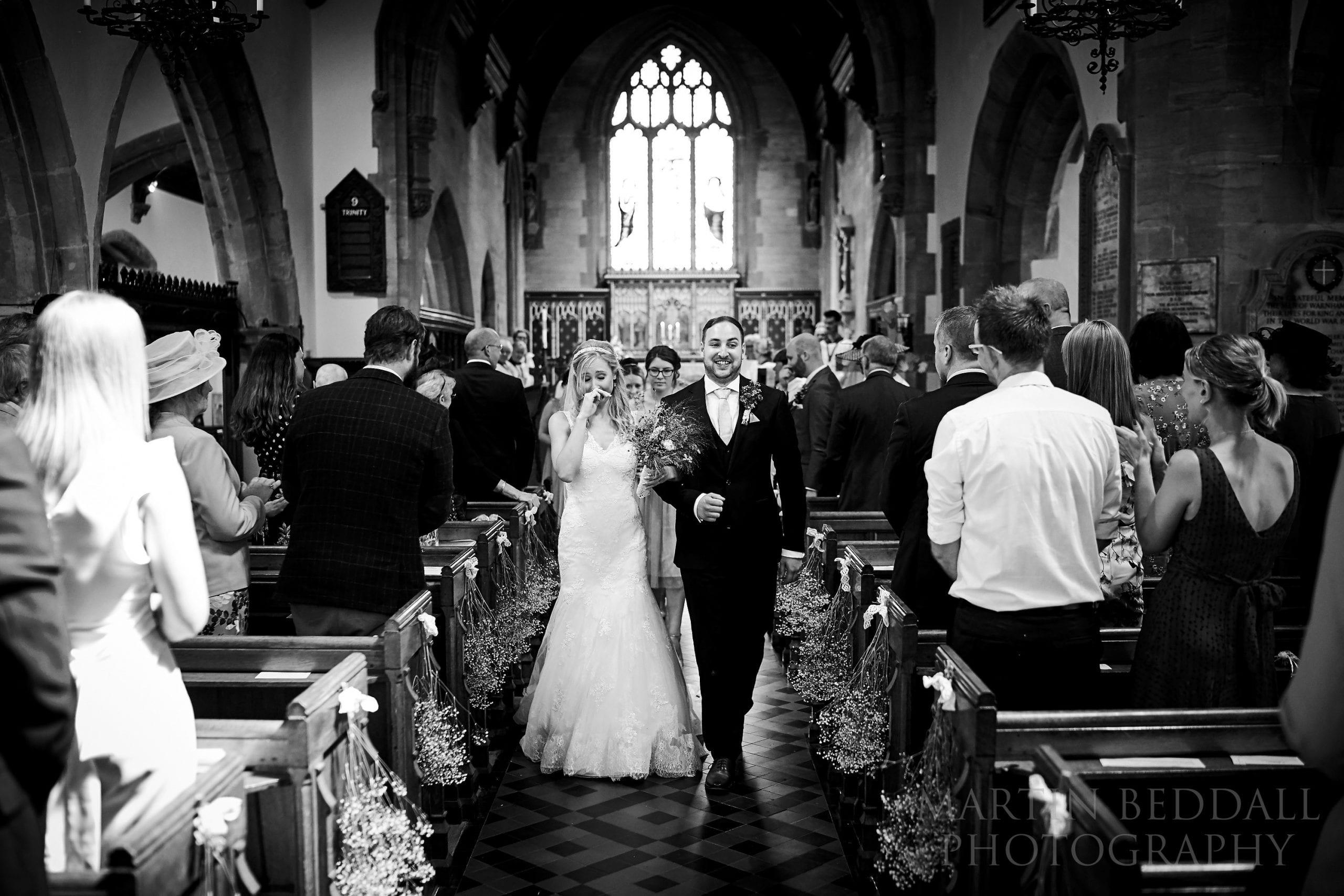 Warnham church wedding