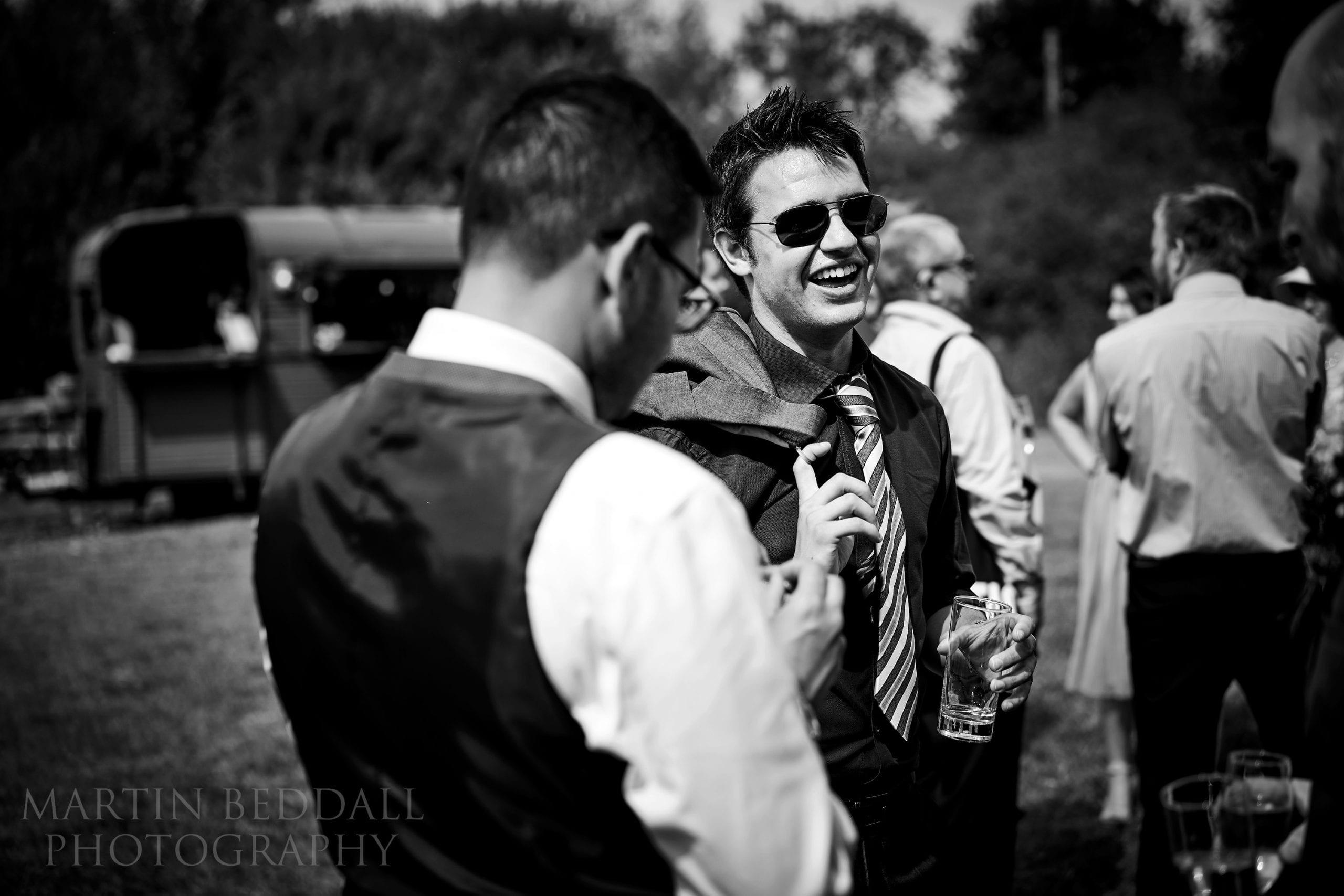 Wedding reception at Secret Barn