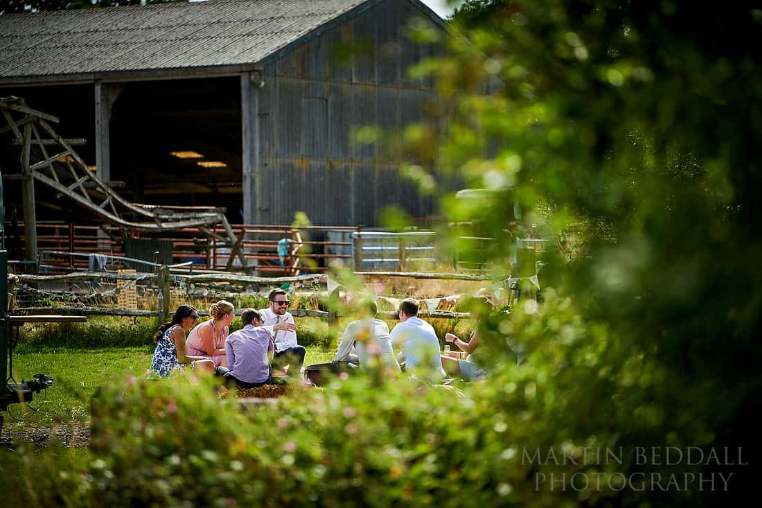 Secret Barn wedding reception