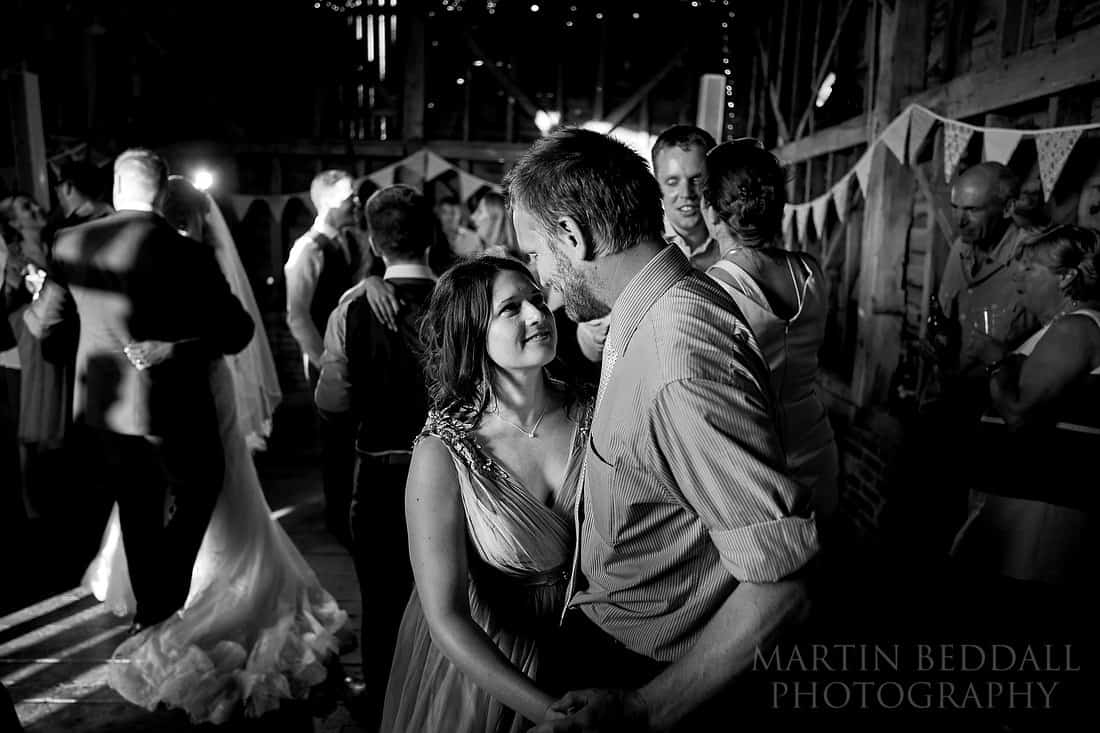 dancing at the secret barn