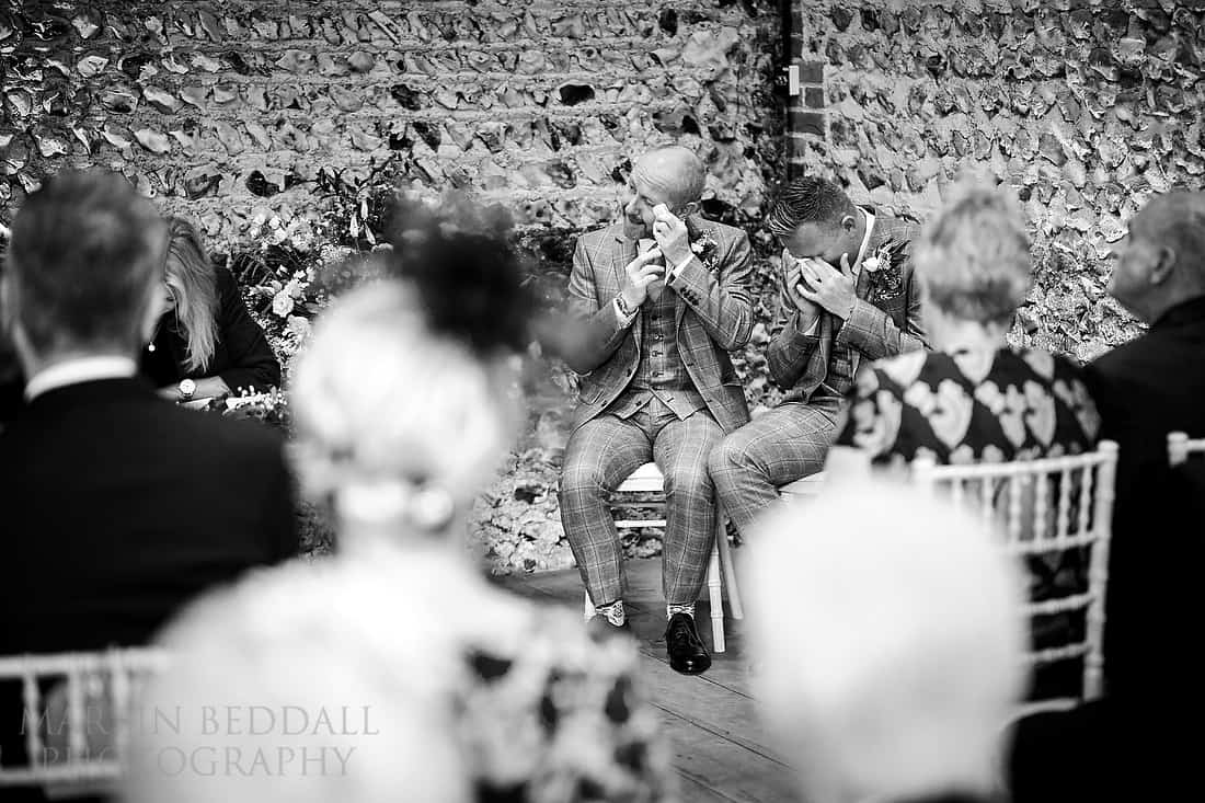 tears for the grooms