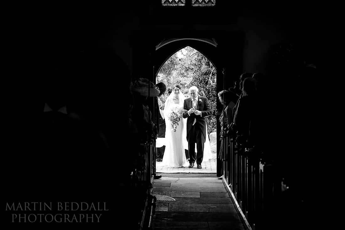 Ditchling church wedding
