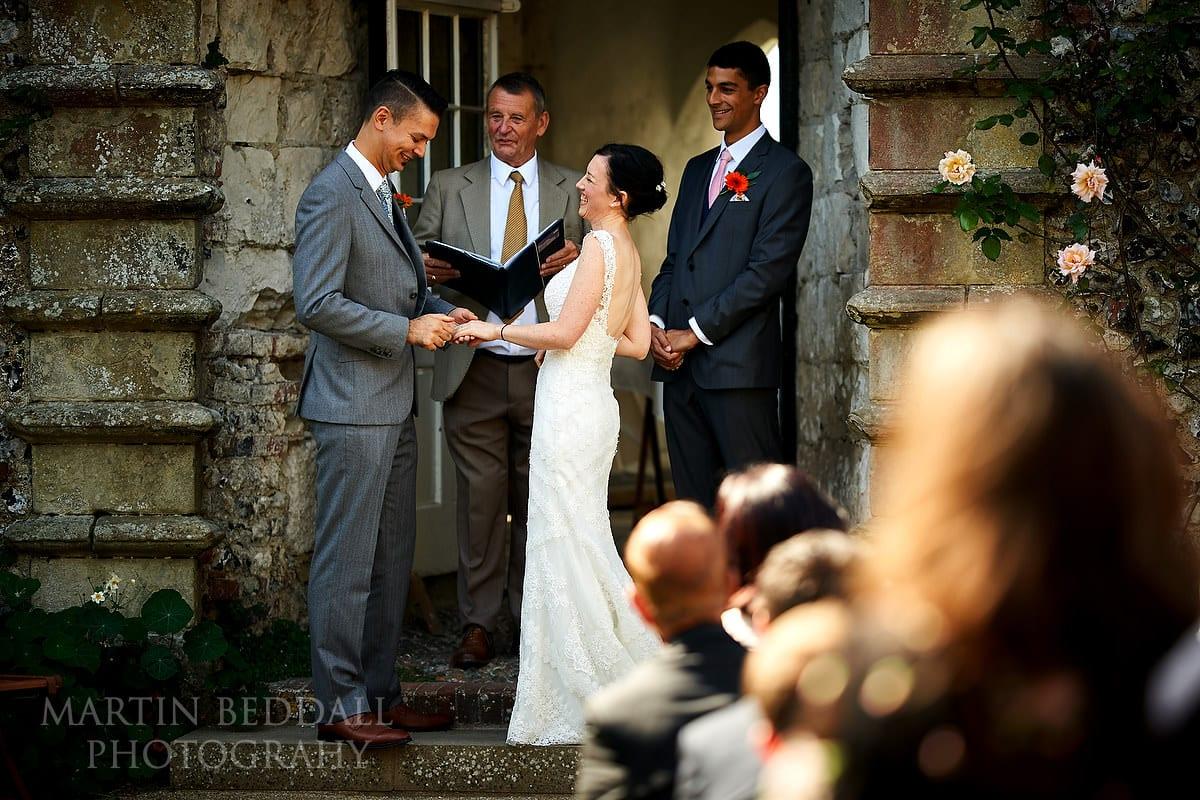 Lewes Castle marriage
