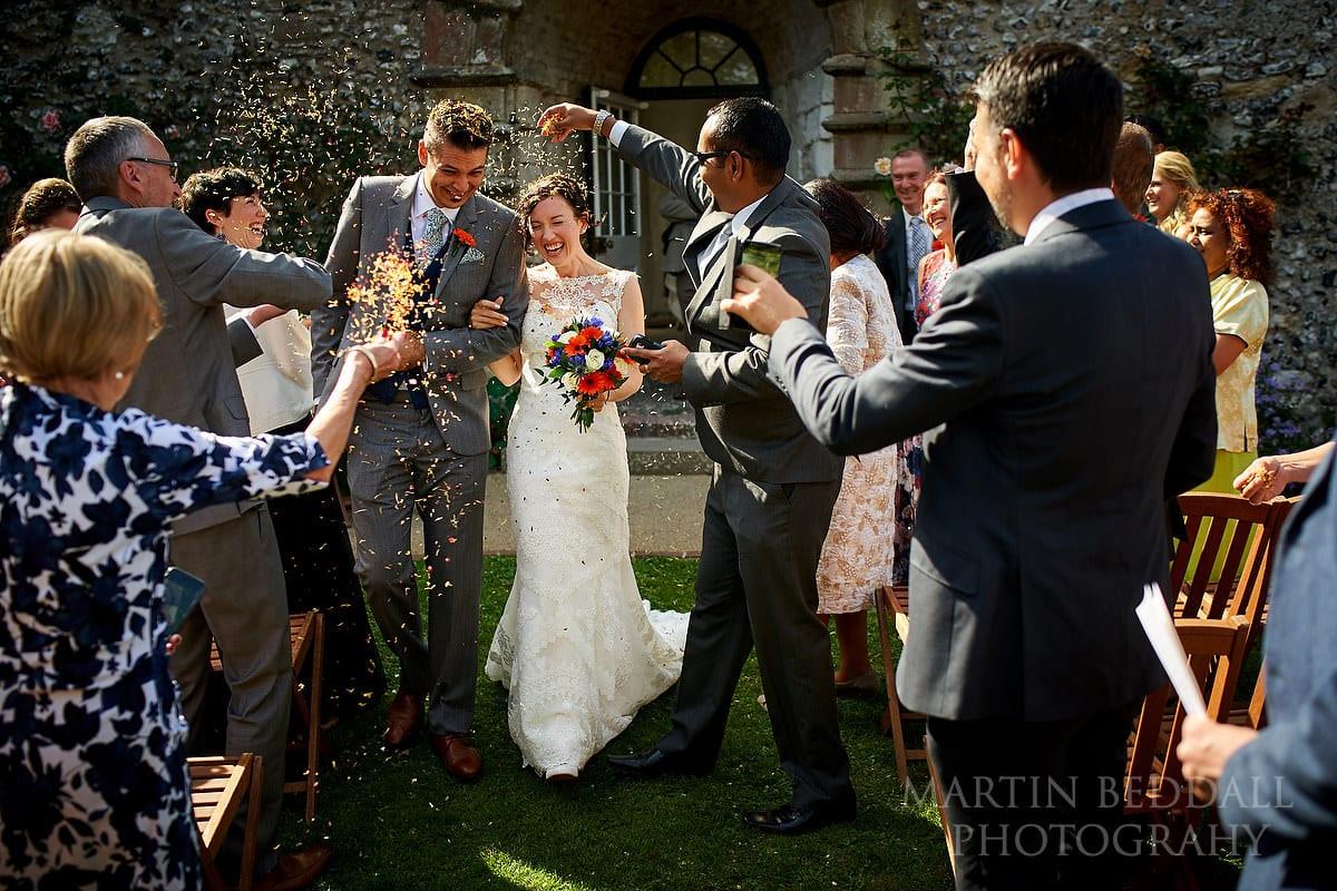 Lewes Castle confetti