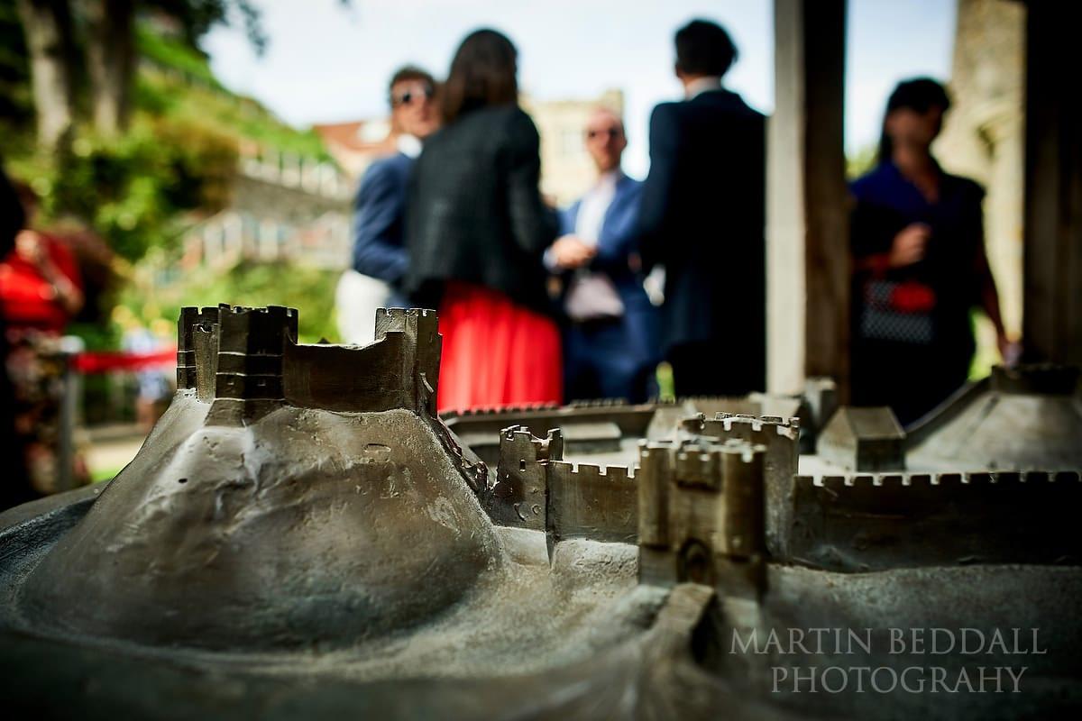 Lewes Castle model
