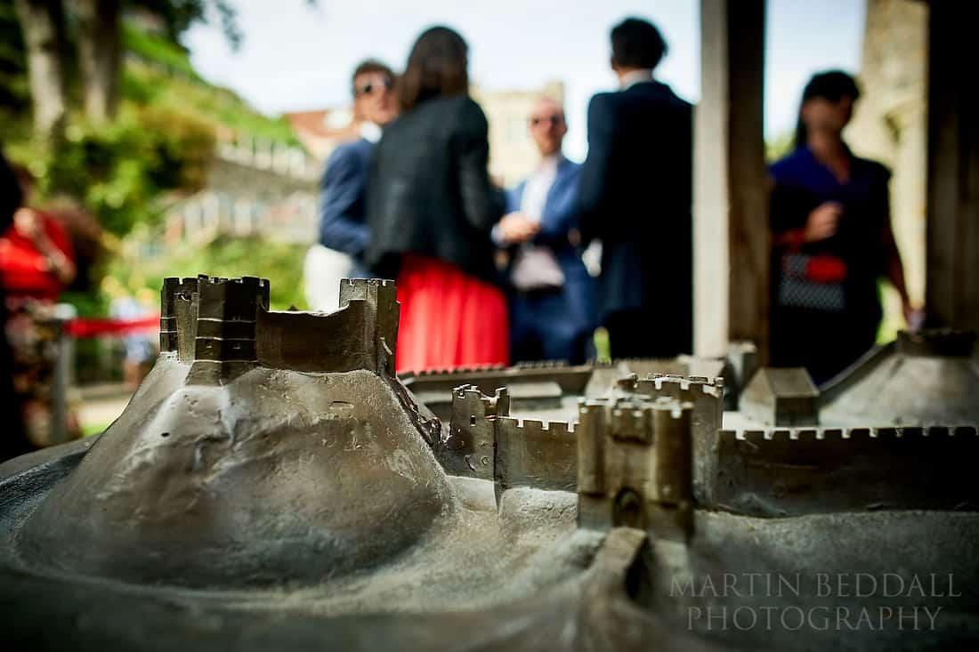 Model of Lewes castle