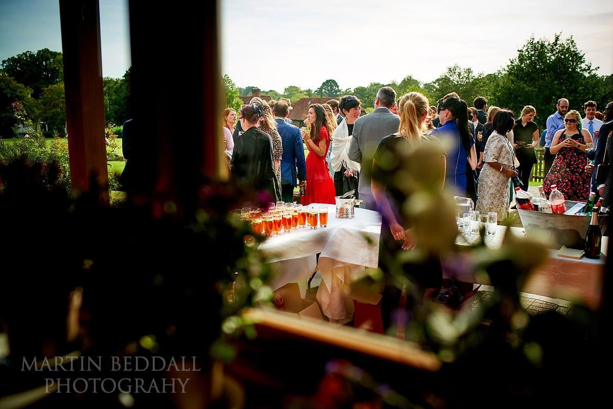 Sussex village hall wedding reception