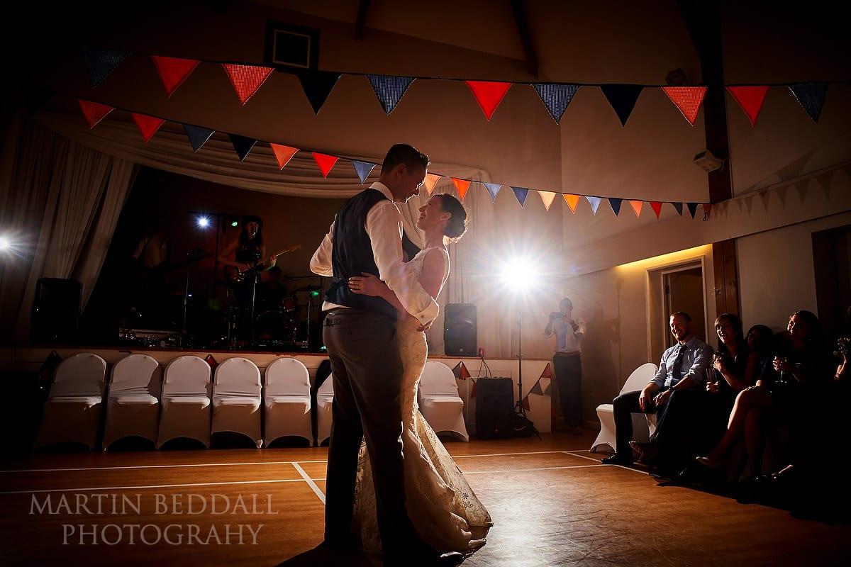 Lewes Castle wedding first dance