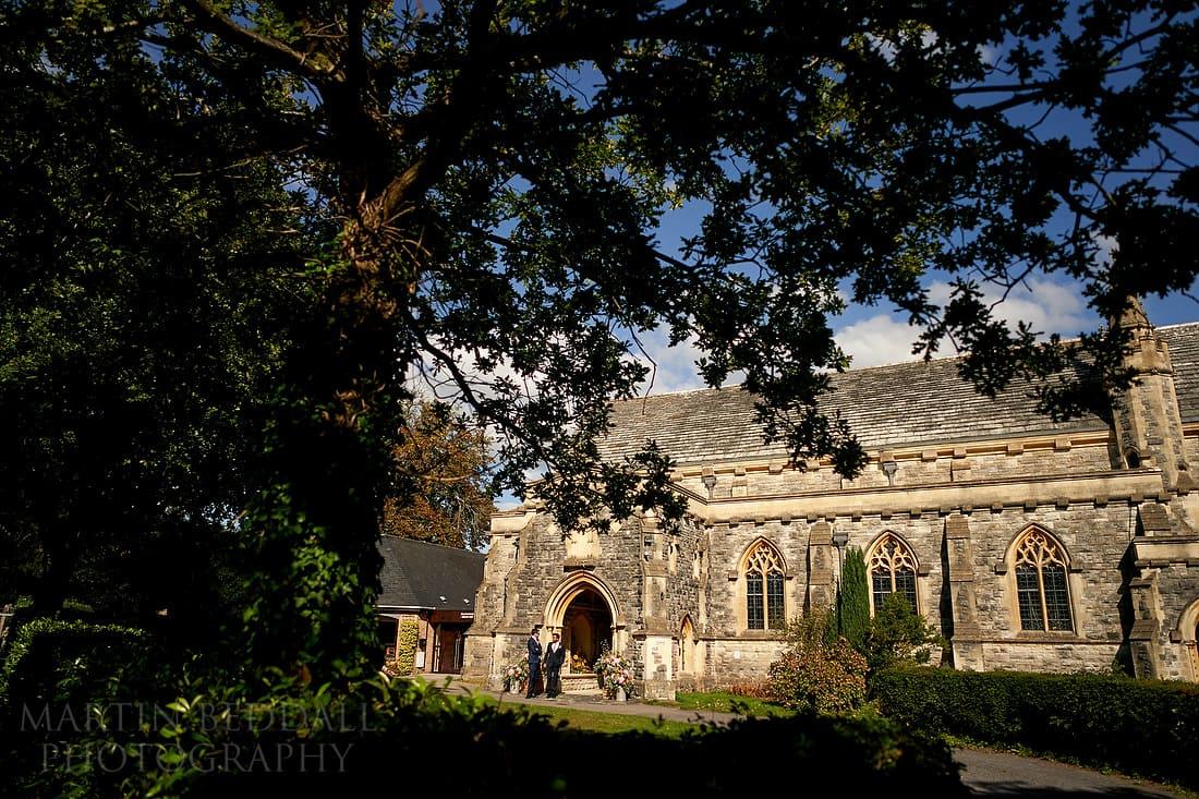 Brockenhurst church