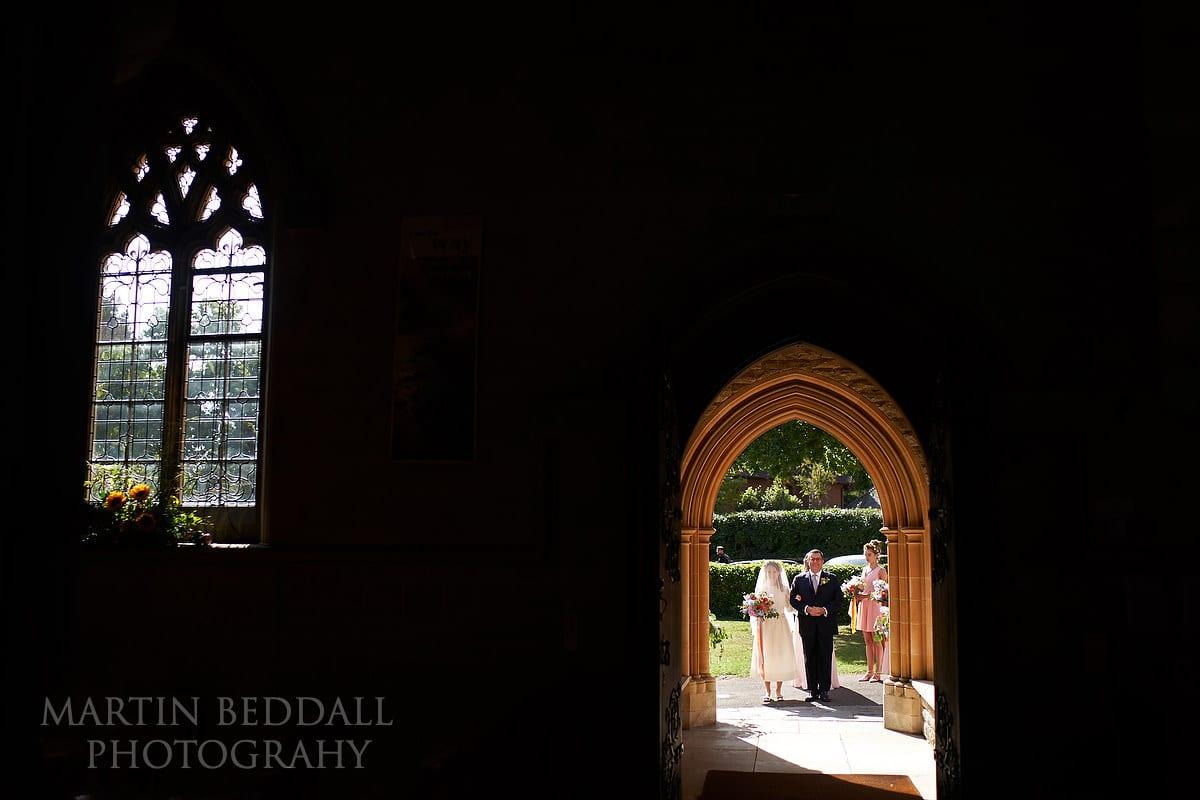 Brockenhurst church wedding