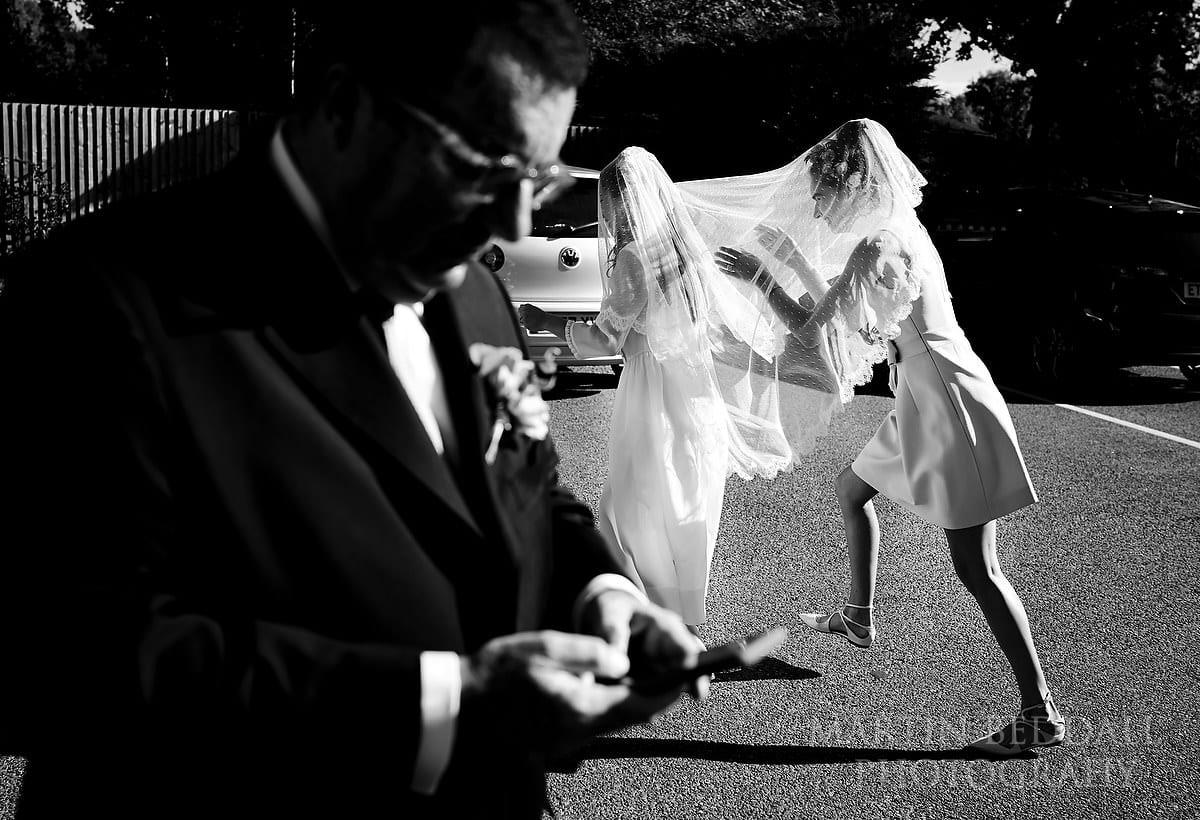 Brockenhurst village hall wedding photography