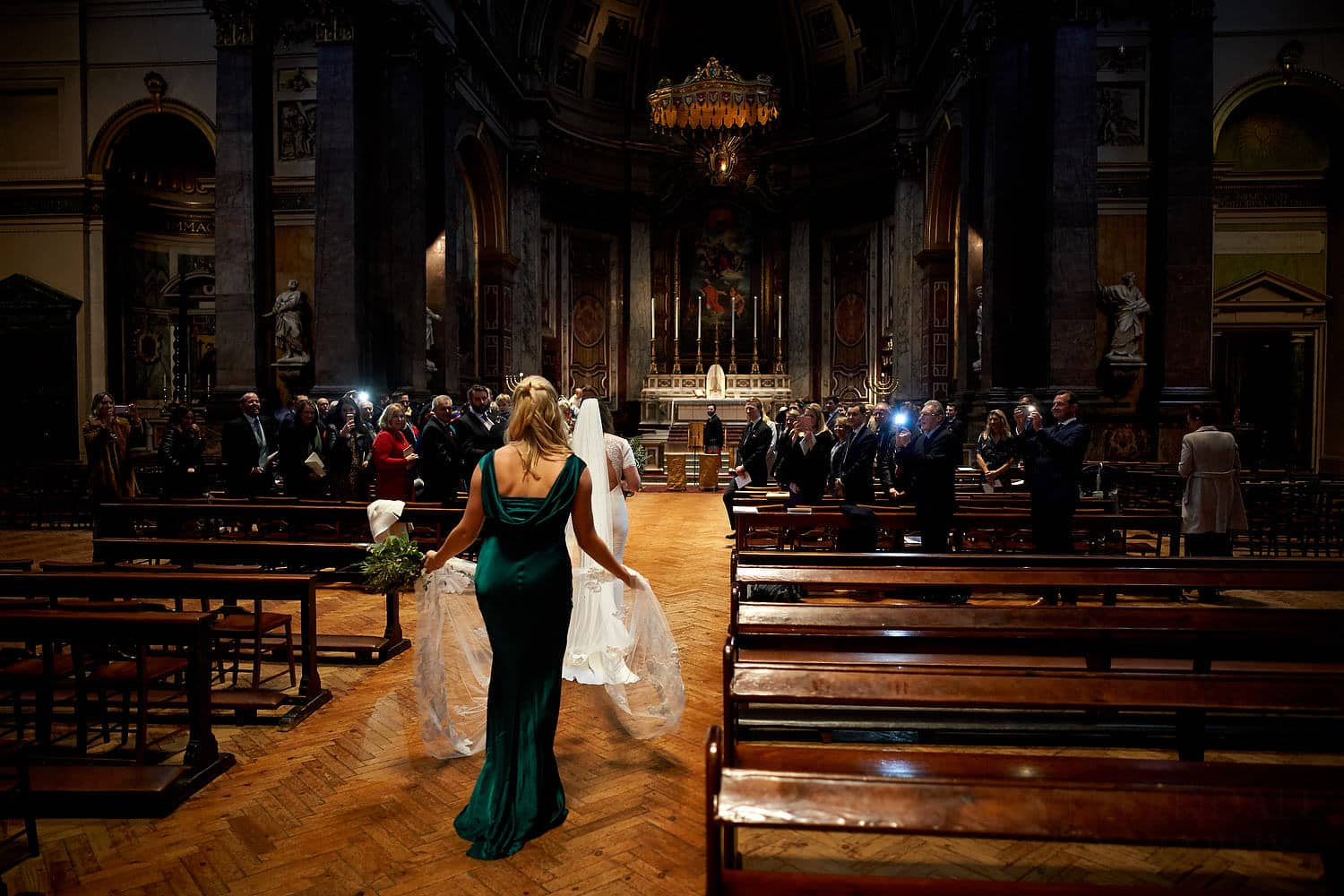 Brompton Oratory wedding