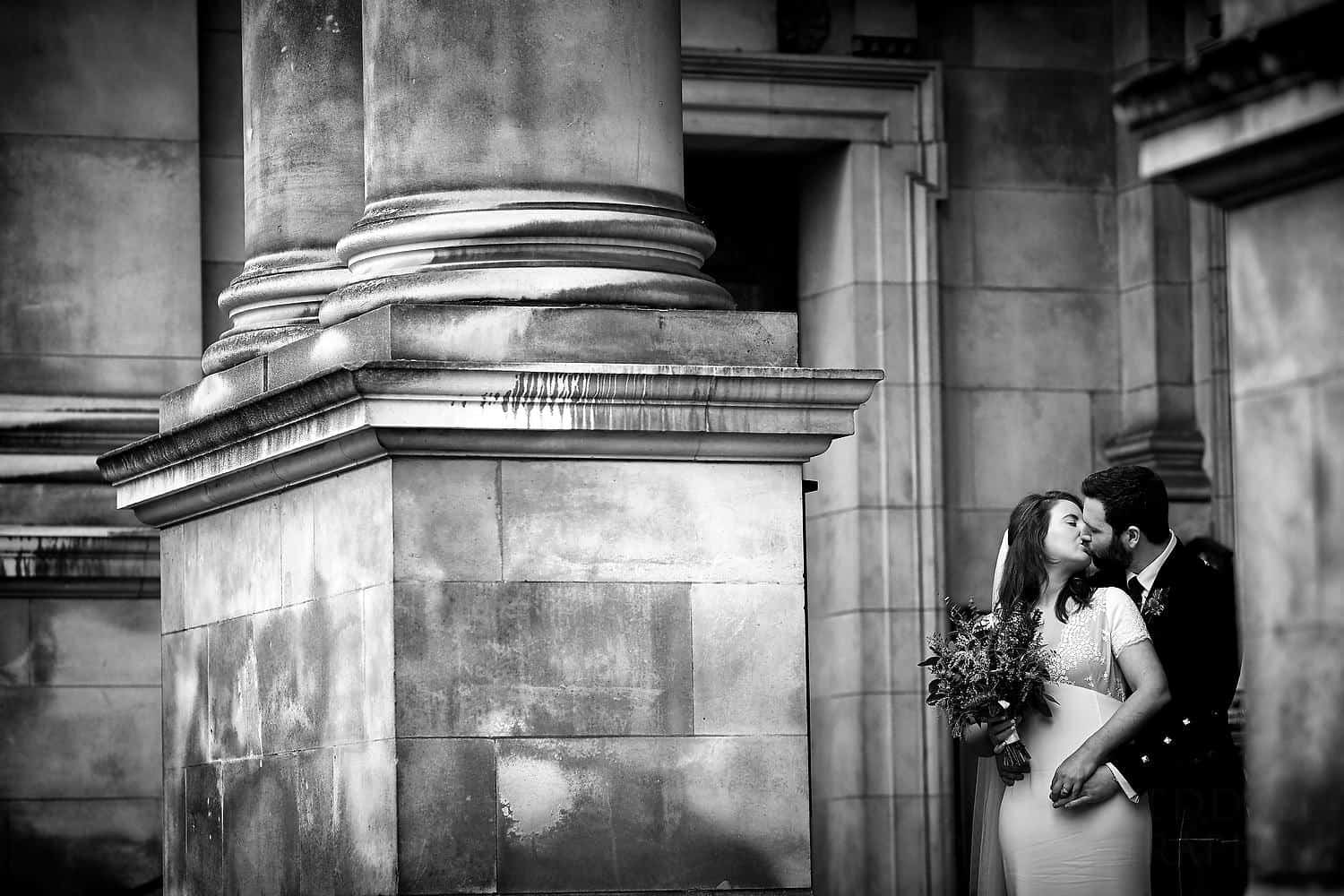 Brompton Oratory couple portrait
