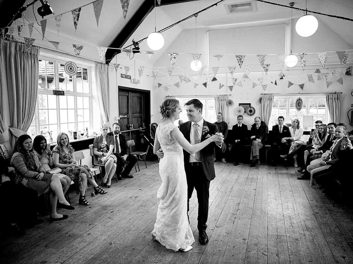 Sussex village hall wedding
