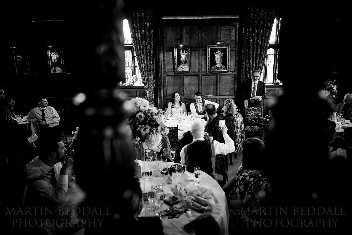 Astor wing wedding speeches