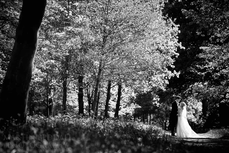 Wild Garden wedding portrait