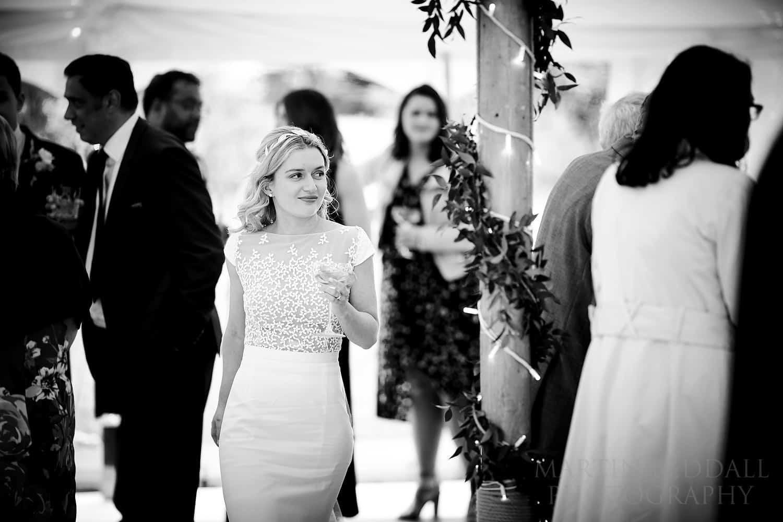 Wedding reception at the Wild Garden in Sussex