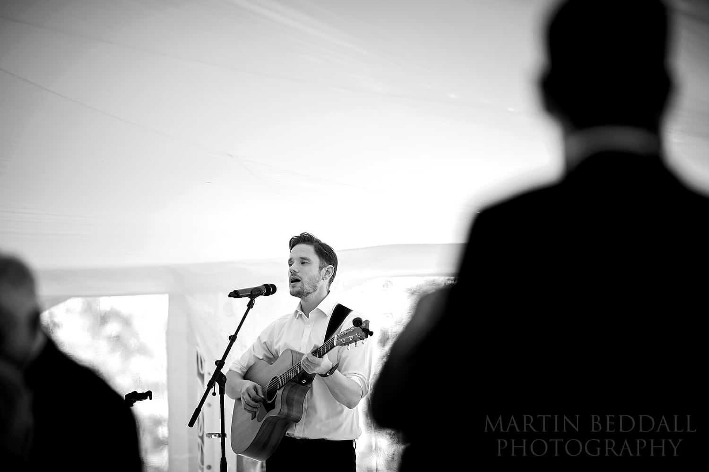 Jay Marsh wedding singer