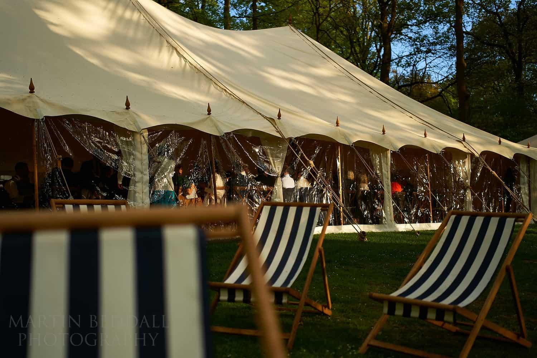 Wild Garden wedding at Hyde Estate