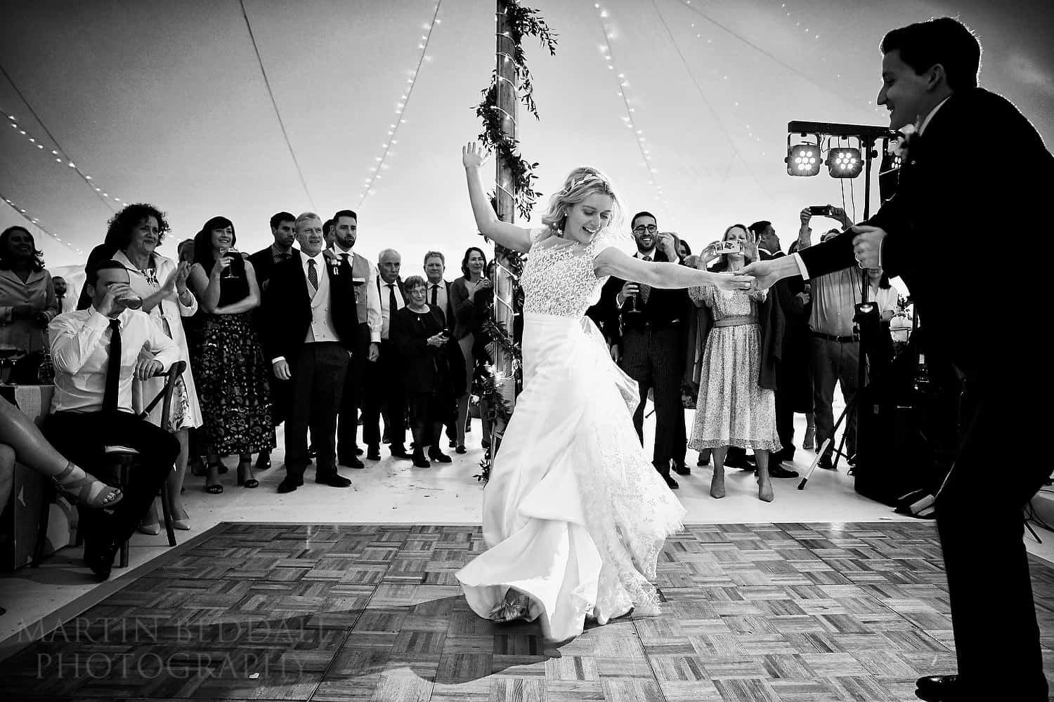 First dance at Wild Garden