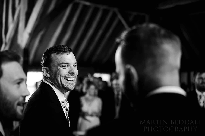 groom jokes with best men