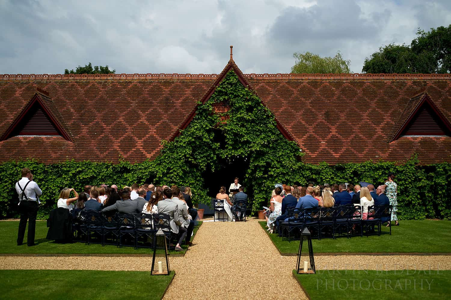 Wedding ceremony Dairy at Waddesdon