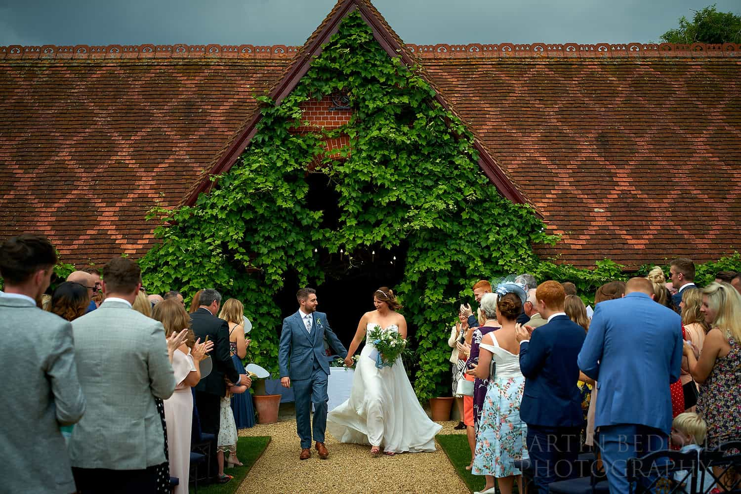 Wedding at the  Dairy at Waddesdon