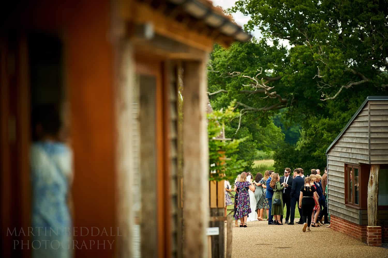 Oak Barn wedding reception
