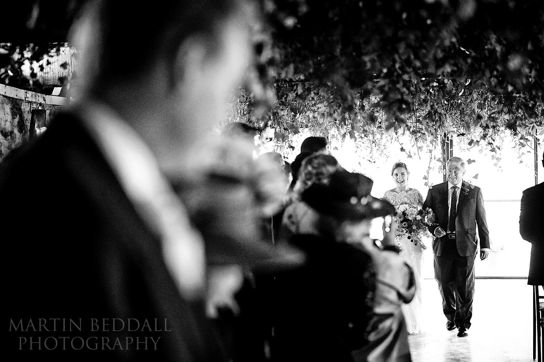 Dewsall Court wedding ceremony