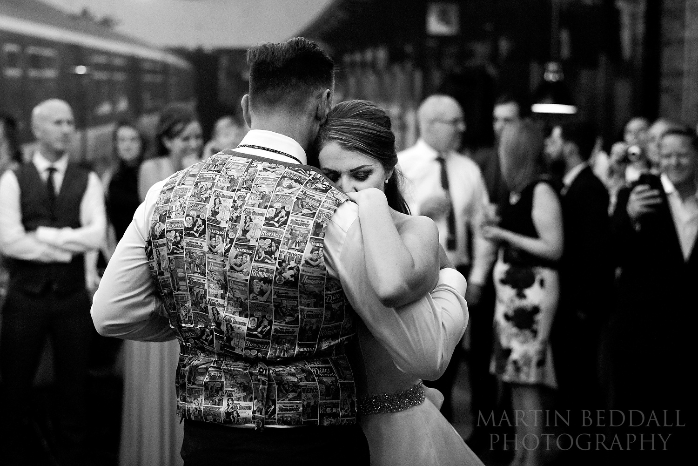 London wedding dance