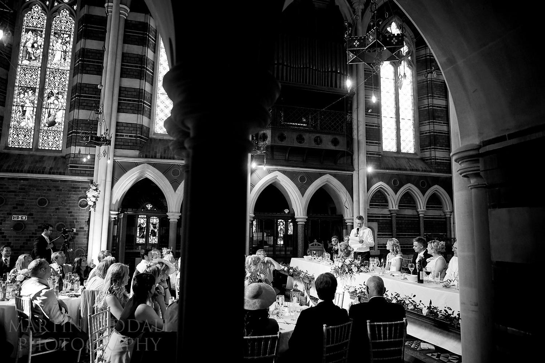 All Saints chapel wedding speech