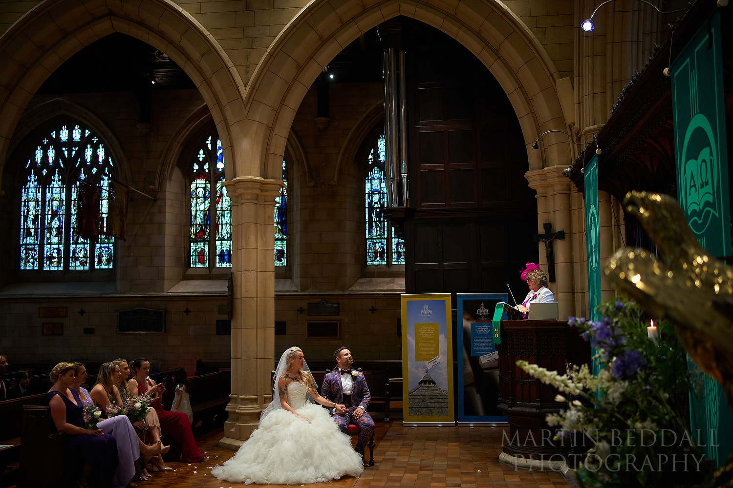 Wedding reading from the pulpit