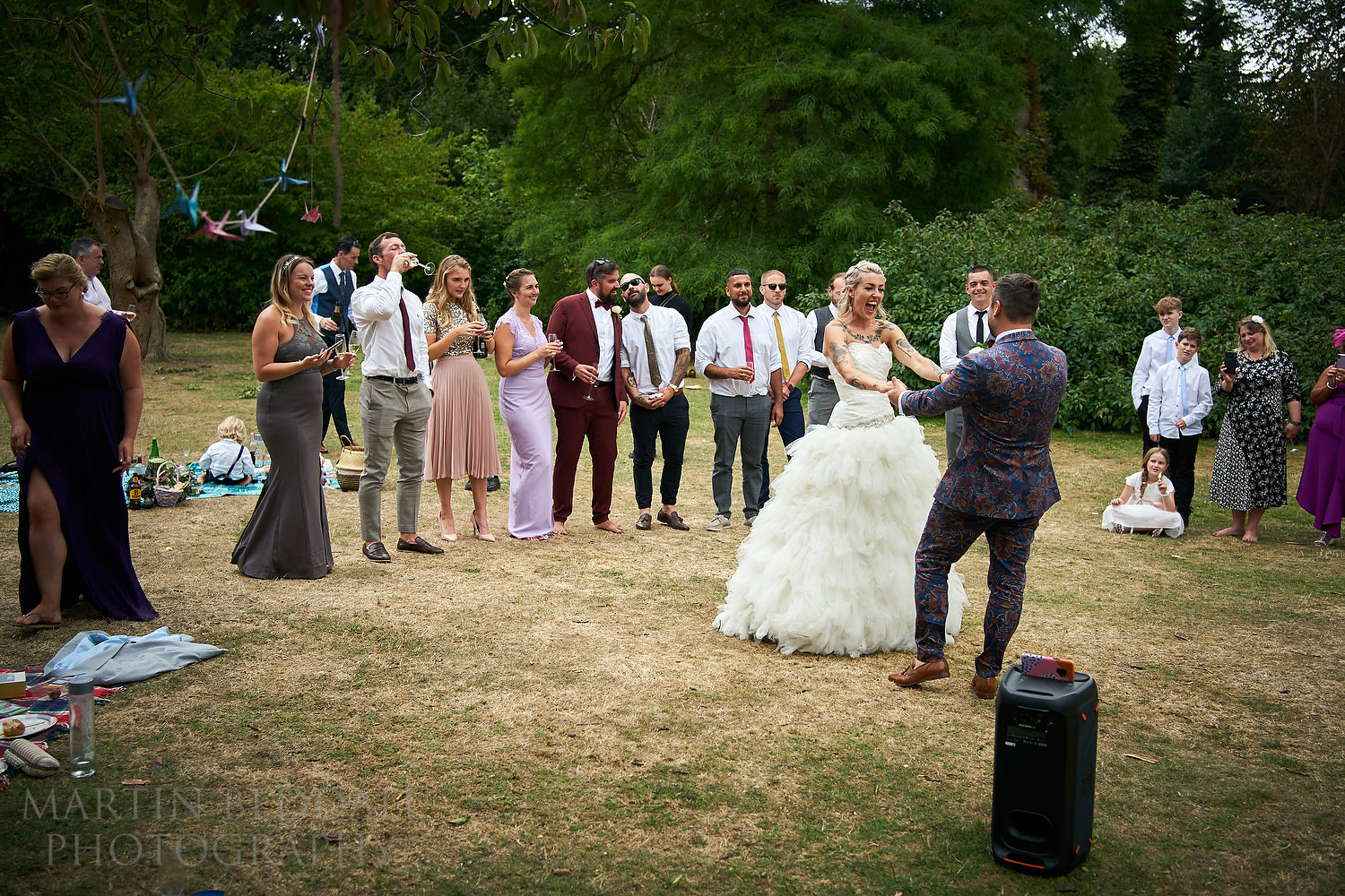First dance in the open air