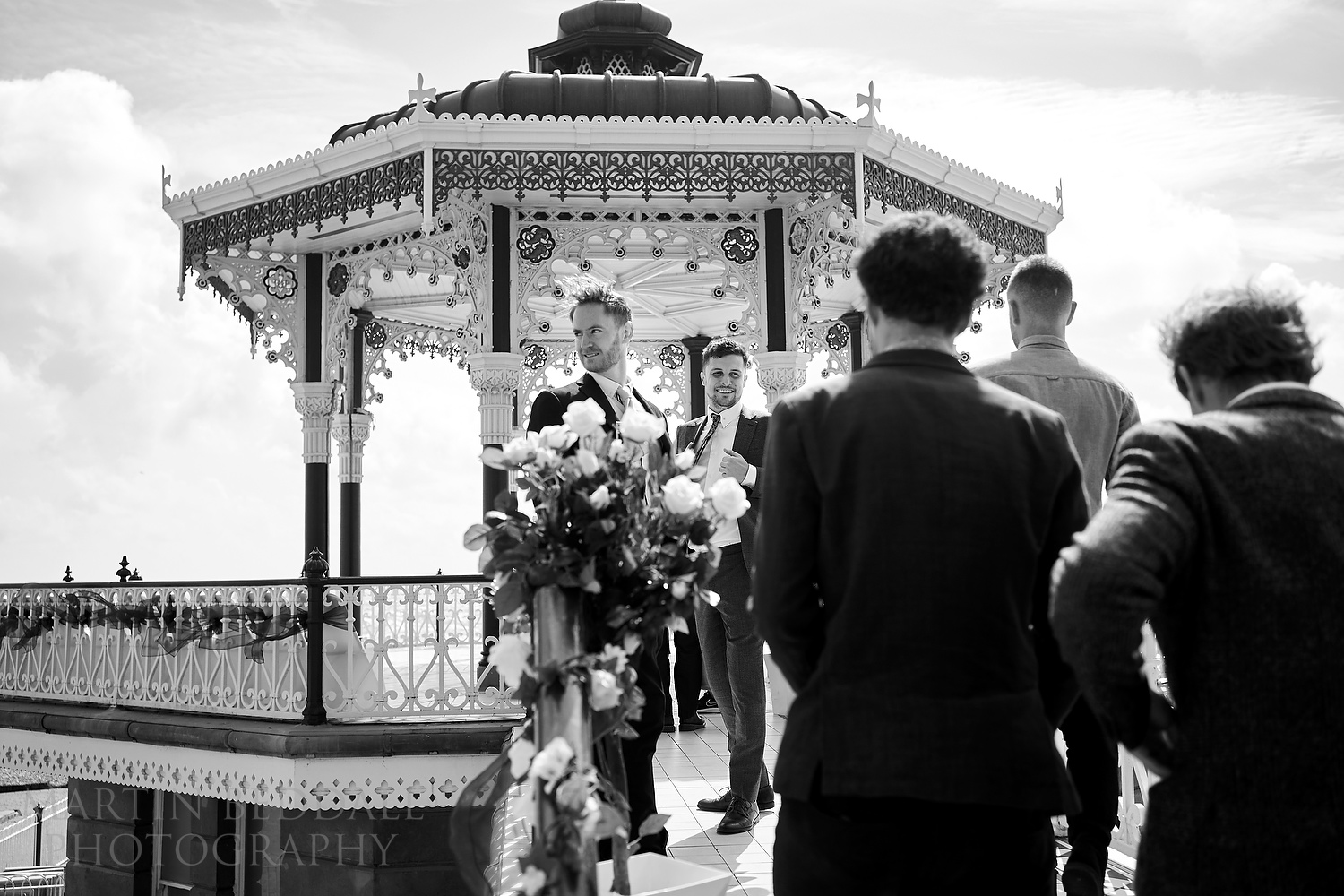 Bandstand wedding in Brighton