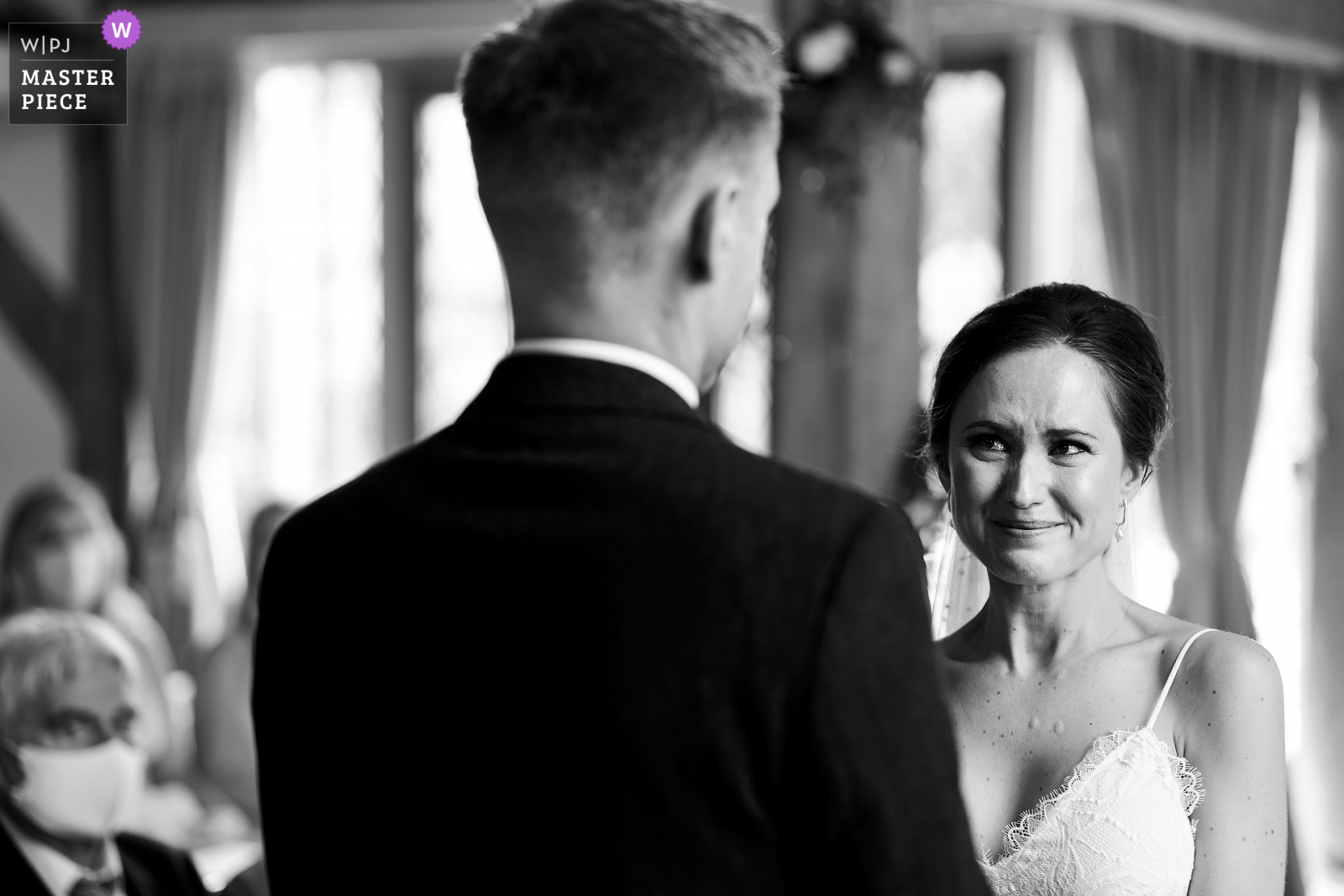 Award winning photograph from Cain manor wedding