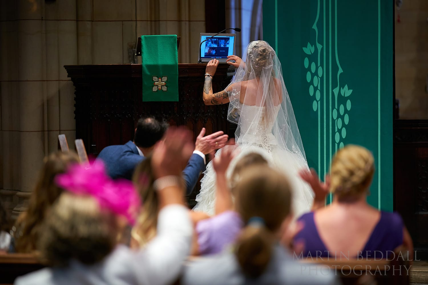 Weddings in 2020 Livestreaming the wedding ceremony